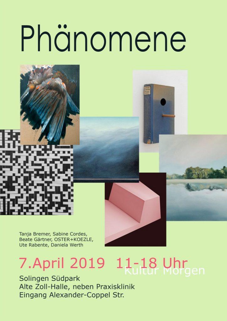 Ausstellung Phönomene